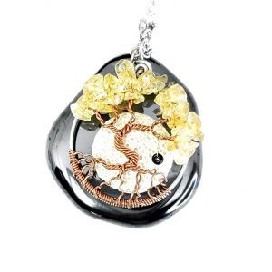 Citrine/November birthstone Pendant