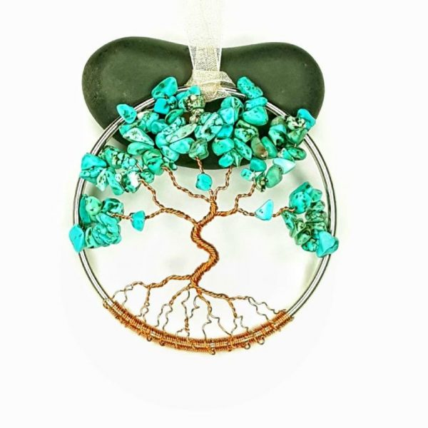 Turquoise December Birthstone Suncatcher