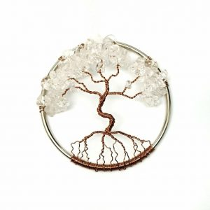 April Birthstone Tree of Life Suncatcher