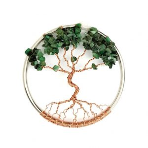 May Birthstone Tree of Life Suncatcher