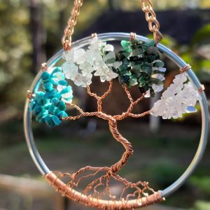 Custom Family Birthstone Tree