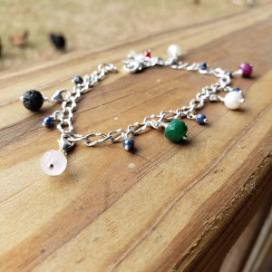 Sterling Silver Purity Charm Bracelet