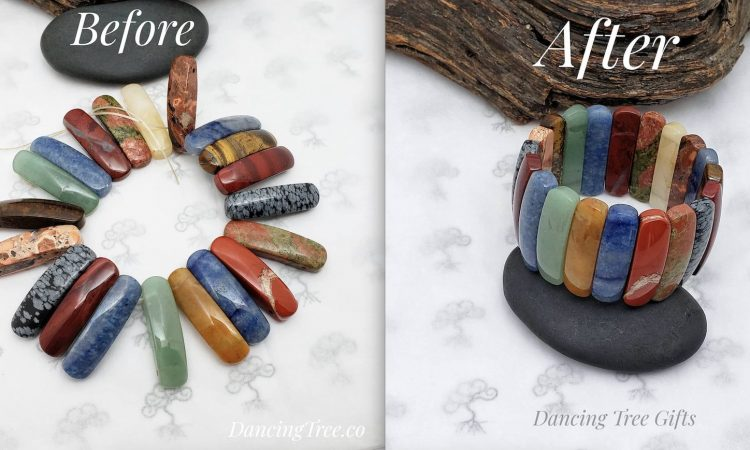 before and after bracelet