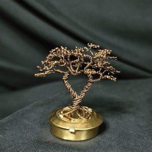 Heart Shaped Dancing Tree on metal base