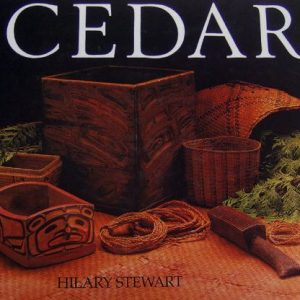 Book cover of items made from cedar with the word Cedar in capital letters