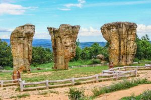 elephant rock formations in thailand